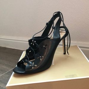 NIB Michael Kors Thalia Leather Dress Sandals